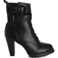 Mees Malanaphy - Black heeled boots - Boots -
