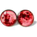 sandra  - Bloodmoon earrings on etsy - Aretes -