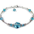 Viktoria Jurica - Blue crystal - 手链 -
