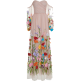 spabrah - Blumarine embroidered floral gown - Dresses -
