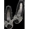 beautifulplace - Border Ribbon Ballet Shoes - Flats -