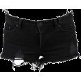 Maria Sanchez Bosser - Black Denim Cut-off - Shorts -