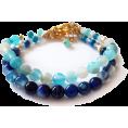 Diana Costa Pedret - Bracelets with agate gemstones - Bracelets - $23.00
