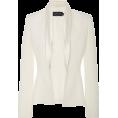 glamoura - Brandon Maxwell Satin Collar Tuxedo Blaz - Trenirke -
