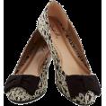 sandra  - Brocade Prada Ballerina Flats - Flats -
