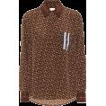 JelNik - Burberry Monogram Stripe printed silk s - Long sleeves shirts -