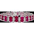 Rocksi - Burmese Ruby and Diamond Bracelet - Bracelets - £360,000.00  ~ $473,677.79