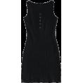 ZAFUL - Button Ribbed Bodycon Dress - Dresses -