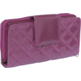 Buxton - Buxton Buffalo Quilt Ensemble Clutch Gypsy Rose - Clutch bags - $34.74