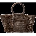 beautifulplace - CAROLINA SANTO DOMINGO Corallina raffia - Hand bag -