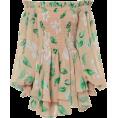 beautifulplace - CAROLINE CONSTAS Blossom Print Mini Dres - Dresses -