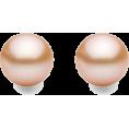 Mary Cheffer - CHAMPAGNE PEARL ZENZII POST EARRINGS - Earrings - $18.00