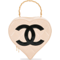 vespagirl - CHANEL VINTAGE quilted CC heart motif ch - Hand bag - $9,552.00
