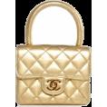 HalfMoonRun - CHANEL golden metallic bag - Hand bag -