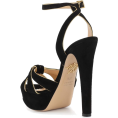 beautifulplace - CHARLOTTE OLYMPIA Plateau suede sandals - Sandals -
