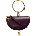Evelin  - CHLOÉ Purple Nile Minaudiere bracelet ba - Hand bag -