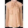 neverorever  - CHLOÉ ruffled yoke blouse $1,995 - Camisa - longa -