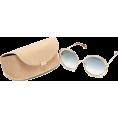 beautifulplace - CHLOÉ  Carlina chain-frame oversized rou - Sunglasses -