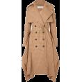 beautifulplace - CHLOÉ Draped checked woven trench coat - Jacket - coats -