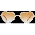 beautifulplace - CHLOÉ  Rosie heart-shaped metal sunglass - Óculos de sol -