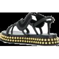 JecaKNS - CHLOÉ almond toe studded sole sandals - Sandals -