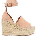 JecaKNS - CHLOÉ espadrille wedge sandals - サンダル -
