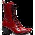 Georgine Dagher - CHLOÉ rode callee medium 60 leren laarze - Boots -