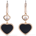 Georgine Dagher - CHOPARD 18kt rose gold Happy Hearts onyx - Belt -