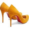 beautifulplace - CHRISTIAN LOUBOUTIN  Breche 100 suede pu - Classic shoes & Pumps -