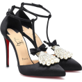 beautifulplace - CHRISTIAN LOUBOUTIN Goyetta 100 satin pu - Classic shoes & Pumps -