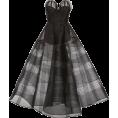 HalfMoonRun - CHRISTIAN SIRIANO strapeless tulle gown - Dresses -