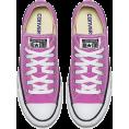 vespagirl - CONVERSE unisex pink  - Sneakers - $55.00