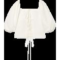 beautifulplace - CULT GAIA Aurel lace-up cotton and linen - Рубашки - короткие -