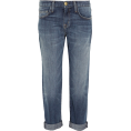 vespagirl - CURRENT/ELLIOTT The Boyfriend cropped mi - Jeans - $225.00
