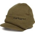 Carhartt - Carhartt Men's Knit Hat With Visor Army Green - Cap - $9.99