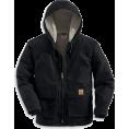 Carhartt - Carhartt Men's Sherpa Lined Sandstone Jackson Coat Black - Jacket - coats - $116.95