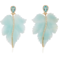 glamoura - Casa Castro Sky Leaf Earrings - Earrings -
