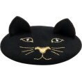 sandra  - Cat on a hat beret Charlotte Olympia - Hat -