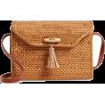 sandra  - Celeste Straw Crossbody Bag NORDSTROM - Messenger bags -