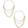 beautifulplace - Chain Detail Hoop Earrings CHAN LUU - Earrings -