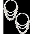 beautifulplace - Chain Detail Hoop Earrings CHAN LUU - Earrings -