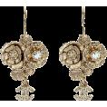 Lady Di ♕  - Chanel Earrings Gold - Earrings -