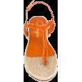 ValeriaM - Charlotte Olympia rattan sandals - Thongs -