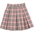 aestheticbtch - Check pleated mini skirt - Skirts -