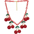 amethystsky - Cherry Necklace - Necklaces -