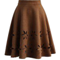 sandra  - Chicwish skirt - Skirts -