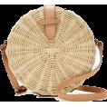 svijetlana2 - Circle straw crossbody bag - Hand bag -