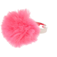 Jay Han - Claire's Pink Fluffy Pom Pom Ring - Prstenje -