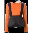 asia12 - Color block blouse - Shirts -