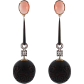 Mees Malanaphy - Coral and wood earrings - Earrings -